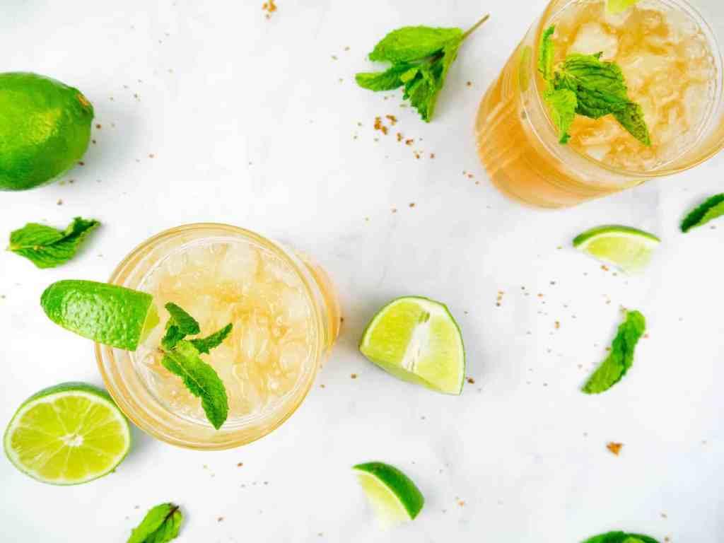 Mint Julep Margarita | Sip + Spice