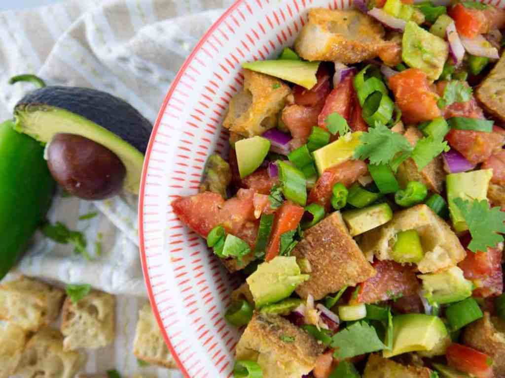 Mexican Panzanella Salad | Sip and Spice