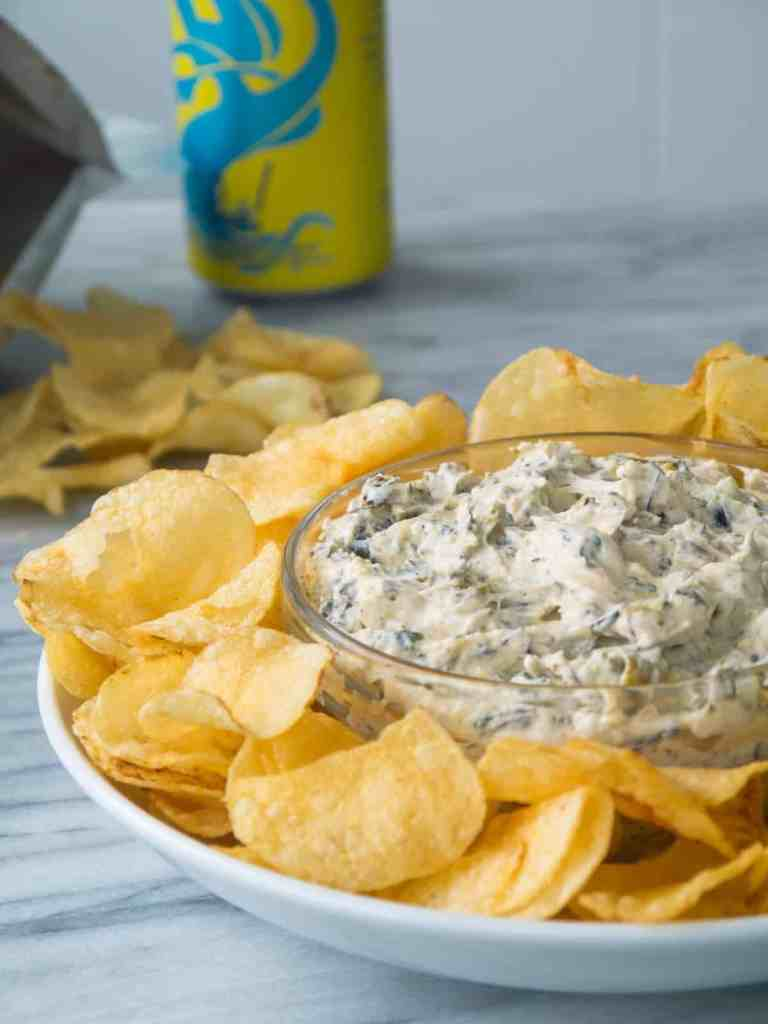 Charred Scallion and Jalapeno Dip | Sip and Spice