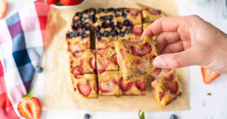 Summer Cake with Berries and Lemon