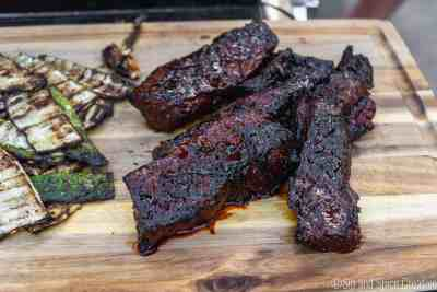 Spicy Honey Bourbon Steak Tips | Sip and Spice