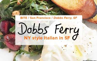 Dobbs Ferry: NY style Italian in Hayes Valley, San Francisco