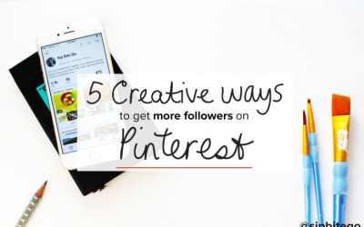 5 creative ways to grow your Pinterest followers