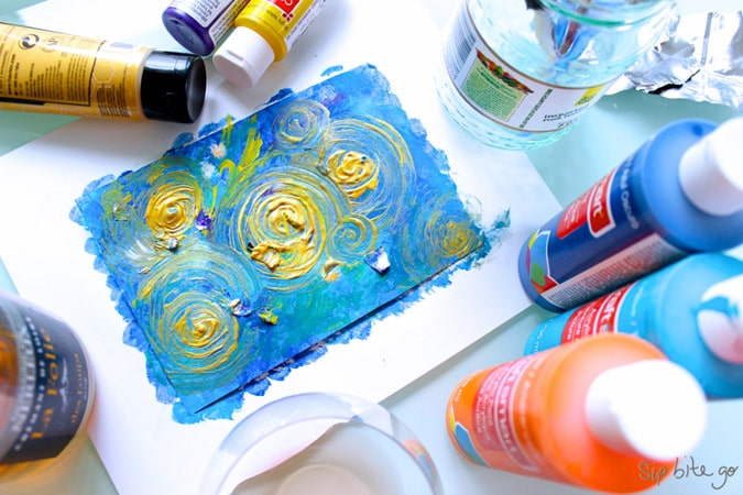 Abstract Art Diy Tutorial For Beginners With Acrylics