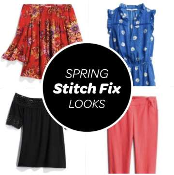spring stitch fix review outfits looks blog post