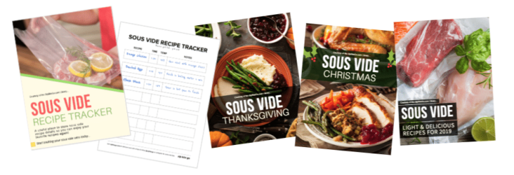 Access our free Sous Vide library