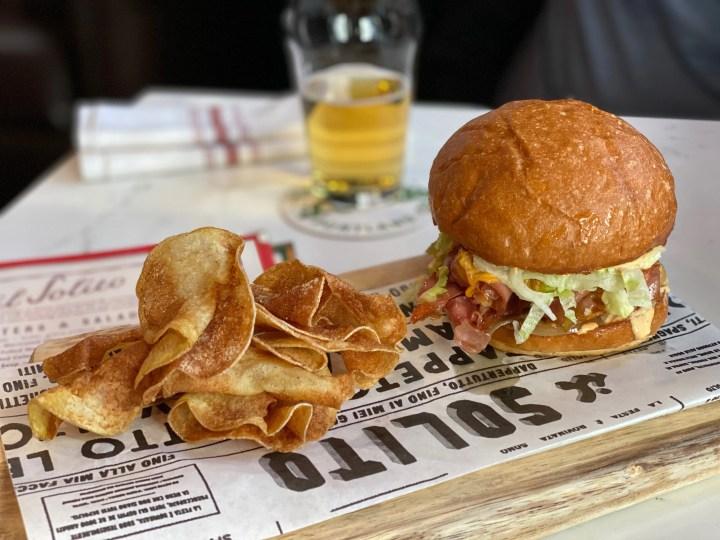 il Solito lunch menu sandwich
