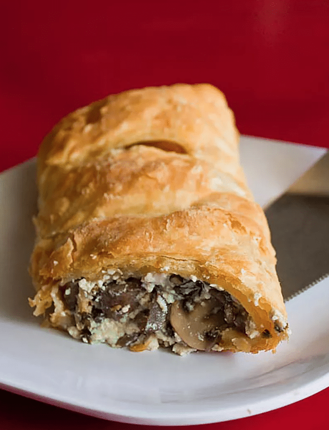 easy puff pastry recipes for parties with mushrooms