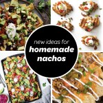 Homemade Nachos Recipes feature image collage