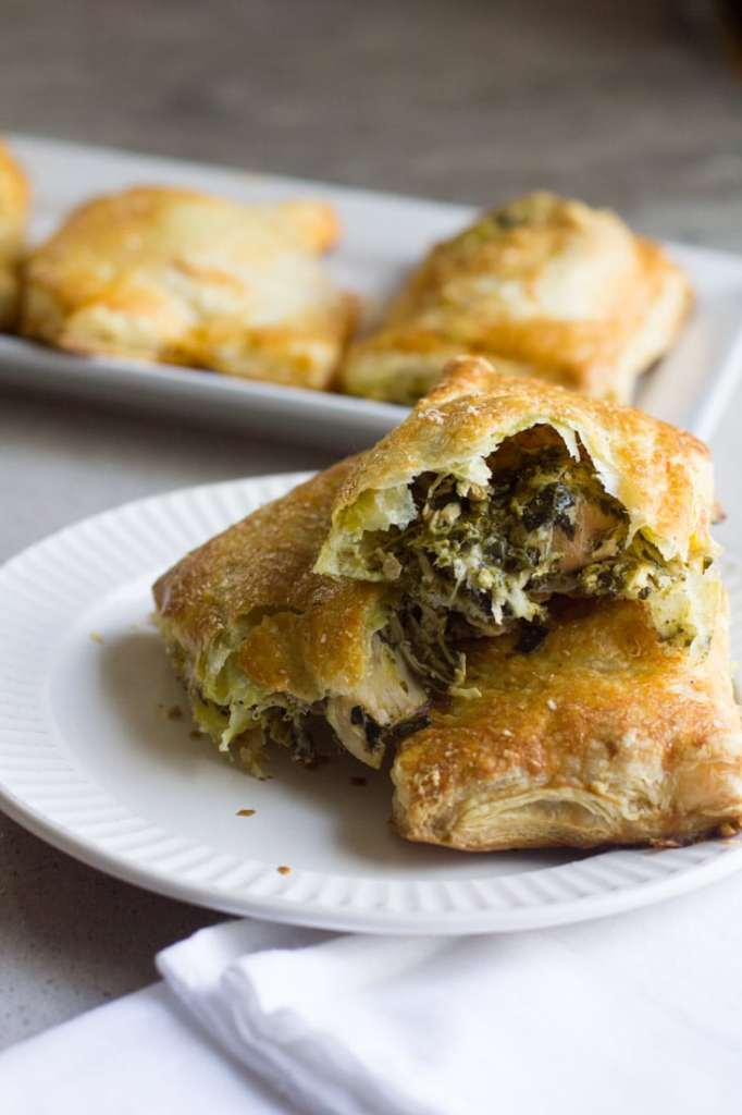easy puff pastry ideas with chicken for a party