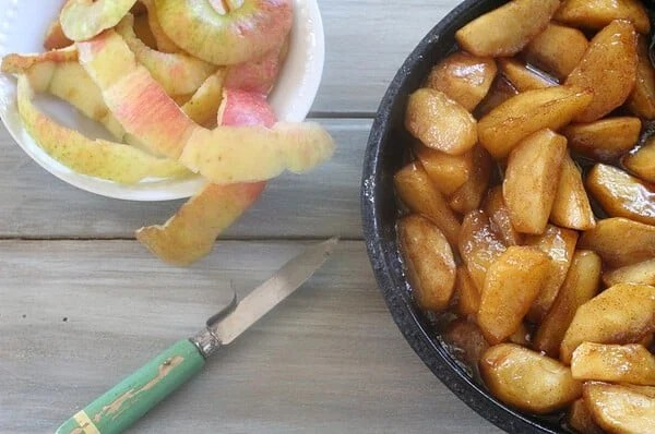 southern baked apple breakfast recipe