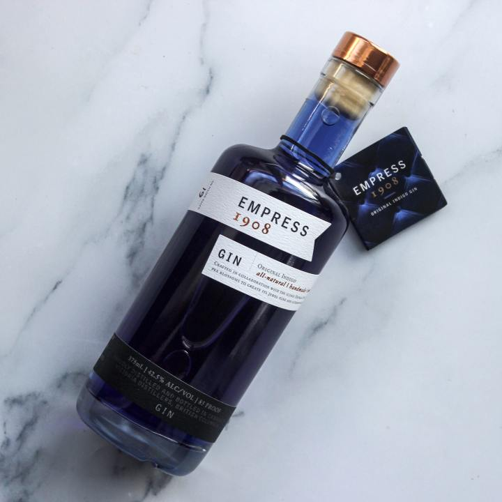 Empress 1908 gin gift for foodies