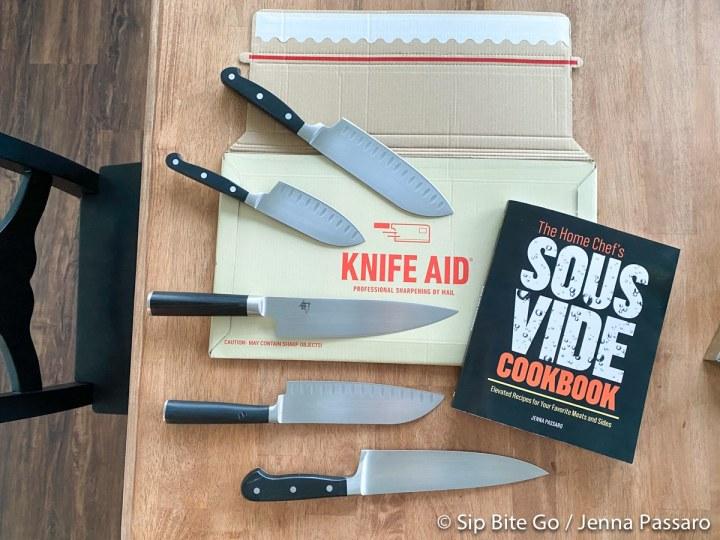 sharpened knives by mail