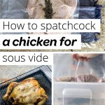 How To Spatchcock A Chicken Step By Step Collage Pin
