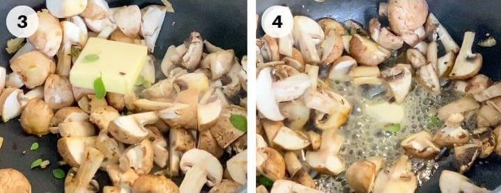 Steps To Make Sauteed Mushrooms