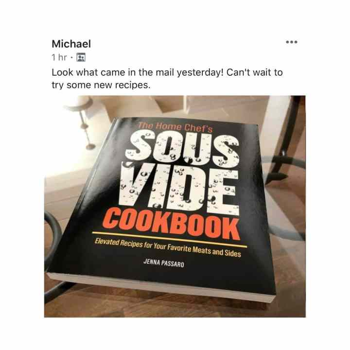 The Home Chef's Sous vide Cookbook review