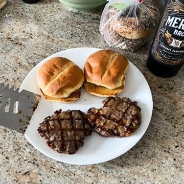 sous vide burgers recipe
