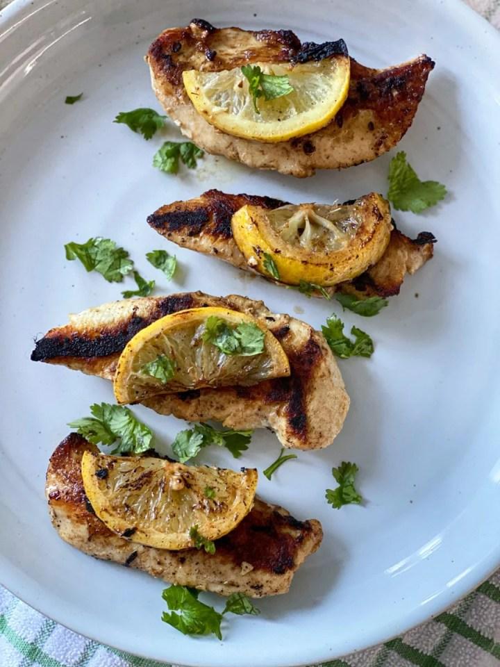 lemon chicken sous vide style