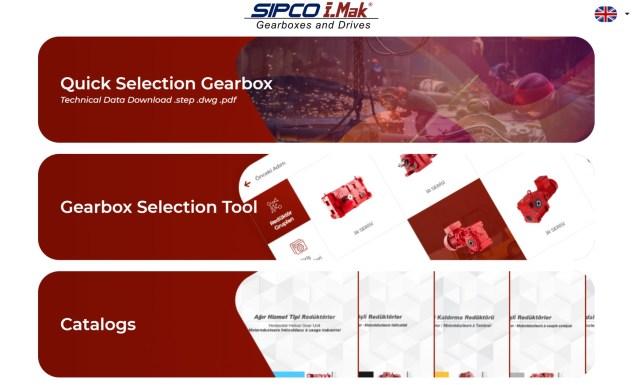 SIPCO-IMAK selector app