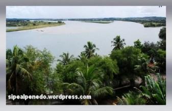 Vista do Rio S. Francisco - Penedo-AL (Brasil).