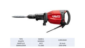 Martillo Demoledor HILTI