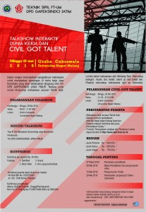 POSTER Civil Got talent3