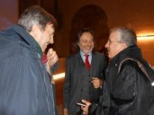 a destra Pirangelo Geppetti, al centro Franco Cracolici