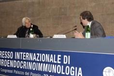 Claudio Franceschi e Ranier Straub alla presidenza della sessione plenaria del 28 ottobre