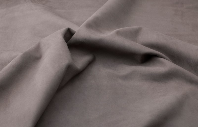 Silky suede charcoal Sipo l6r133s - leather for garments without lining