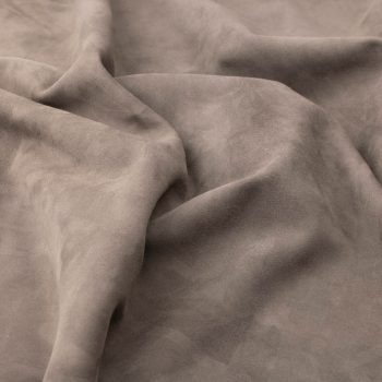 Silky suede slate Sipo l6r135s - leather for garments without lining