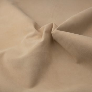 Silky suede sand Sipo l6r210s - leather for garments without lining