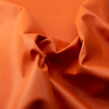 Lamb nappa orange l6d421 - leather for garments