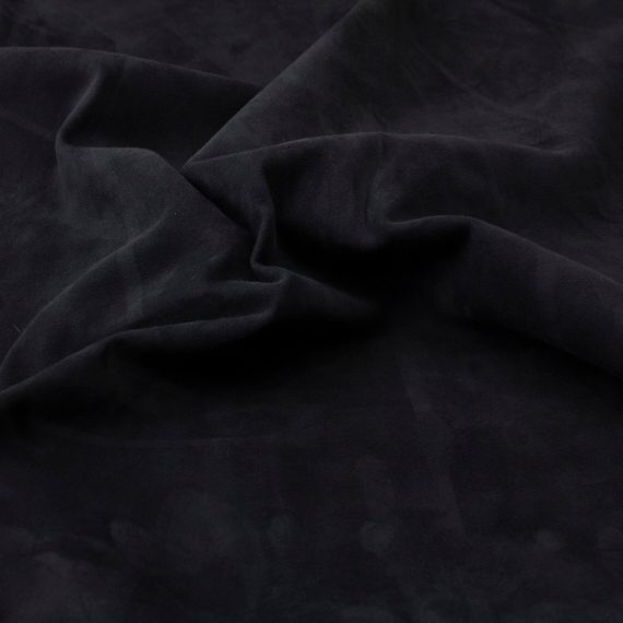 Silky suede marine Sipo l6r690s - leather for garments without lining