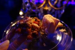 Ratatouille au gratin with puff pastry