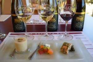 Exploring Food & Wine Pairings At Mayo Winery