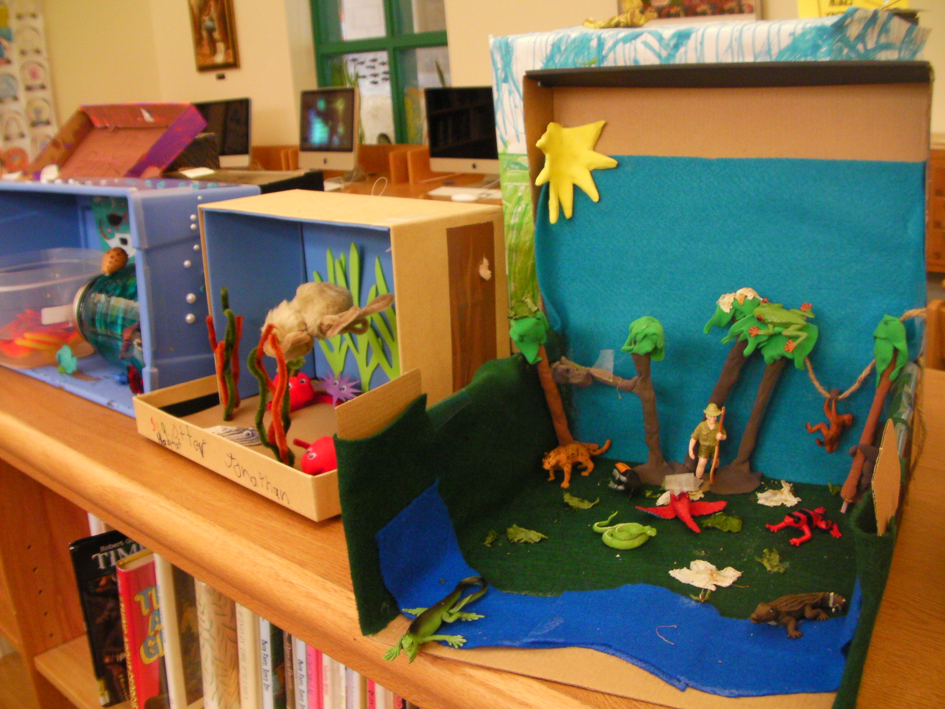 Grade Two Habitat Projects