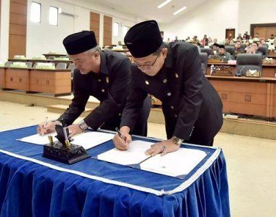Tujuh Raperda Kabupaten Malinau Ditetapkan Menjadi Perda