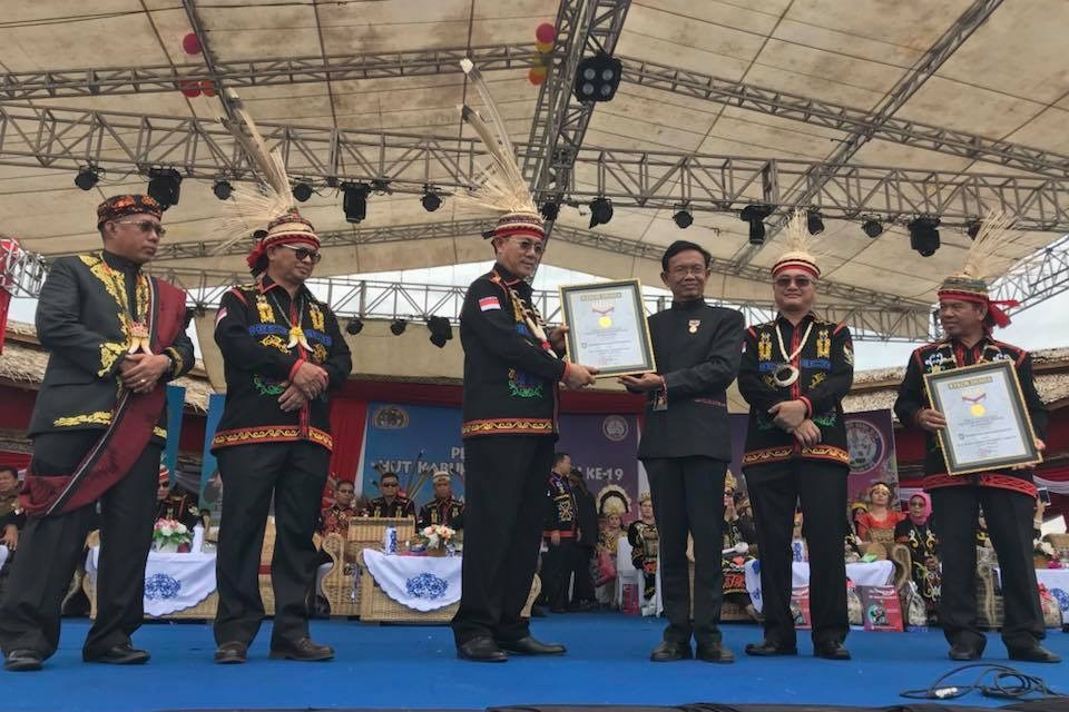 Pawai Budaya Dalam Rangka HUT Kabupaten Malinau Ke-19 dan IRAU Ke-9