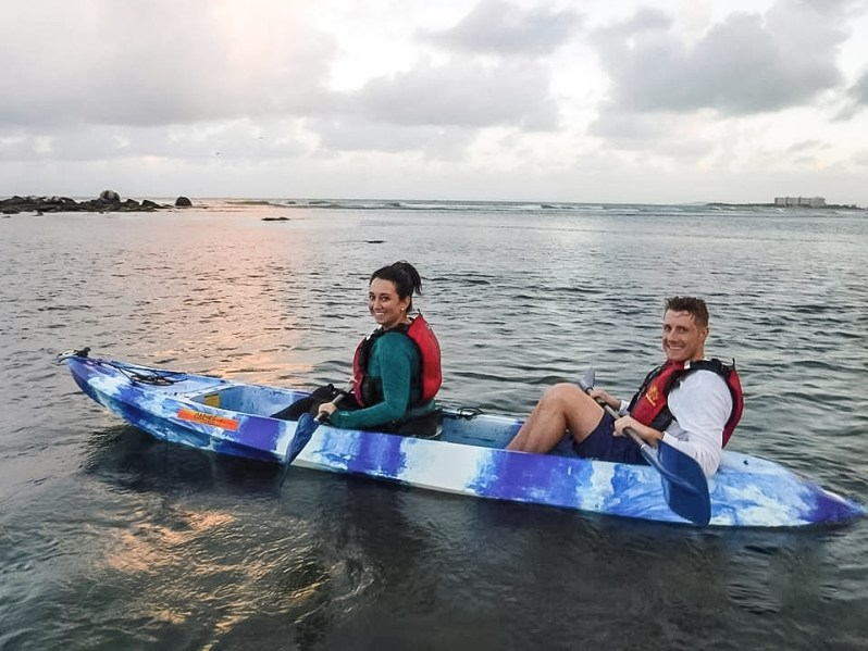 Kayaking in Puerto Rico.JPG