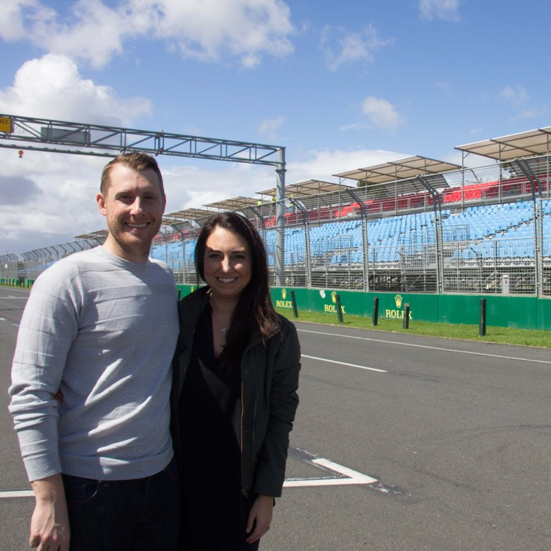 Formula 1 Australian Grand Prix Starting Line