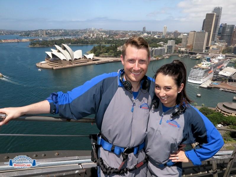 Sydney Harbour Bridge Climb sipsandsequins 2