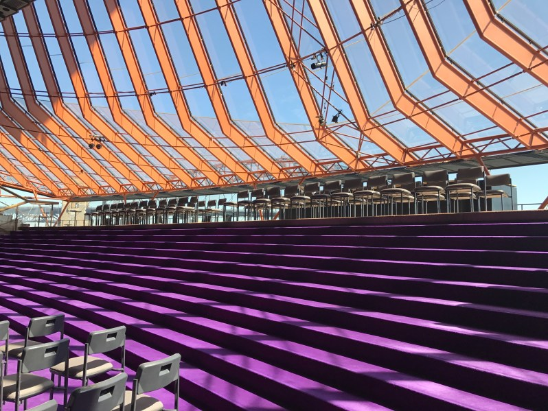 Sydney Opera House Purple Room