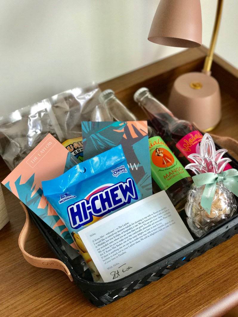 Laylow Hotel Welcome Basket