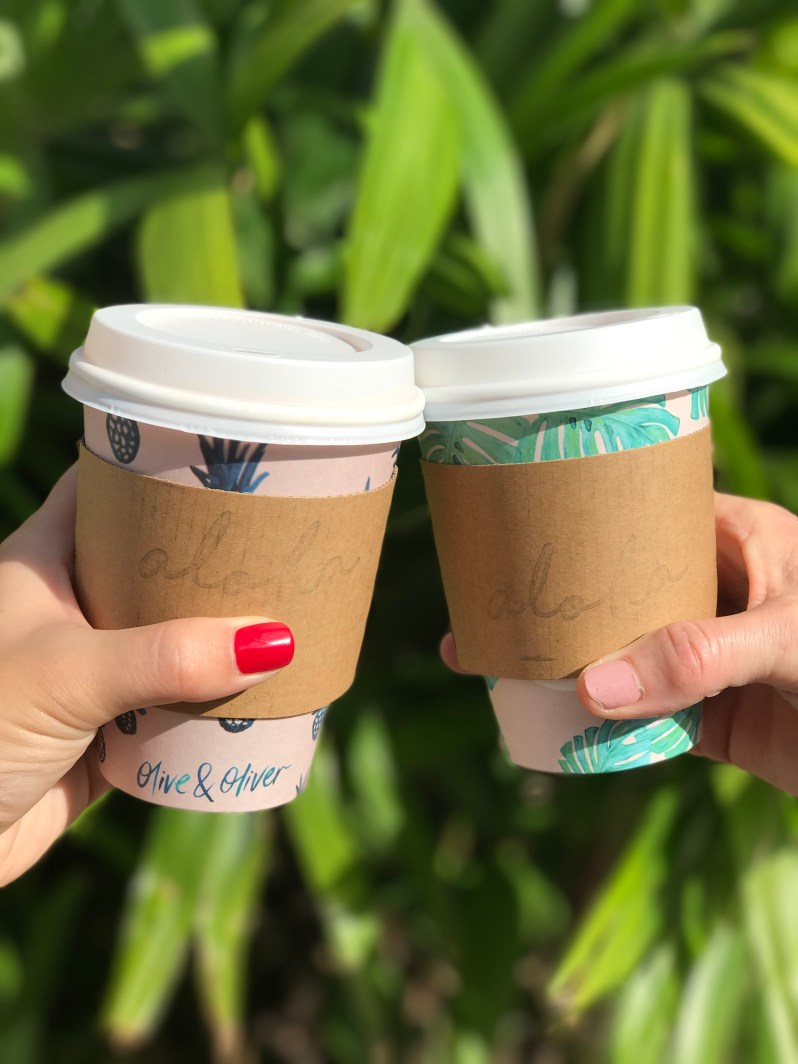 Olive and Olivers Coffee Cups