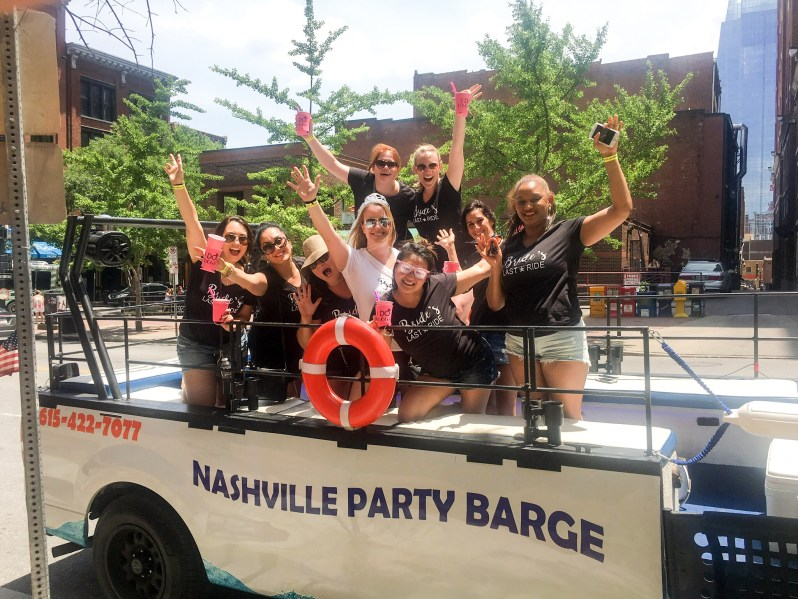 Nashville Party Barge Bachelorette Party 1