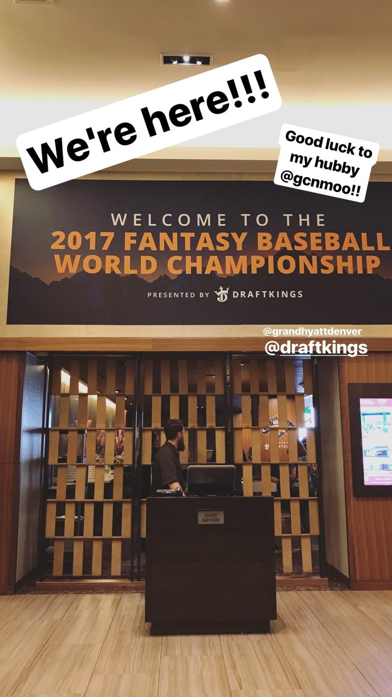 DraftKings 2017 Fantasy Baseball World Championship 1