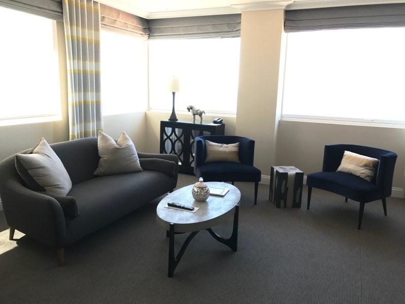 La Valencia Hotel Suite Living Room