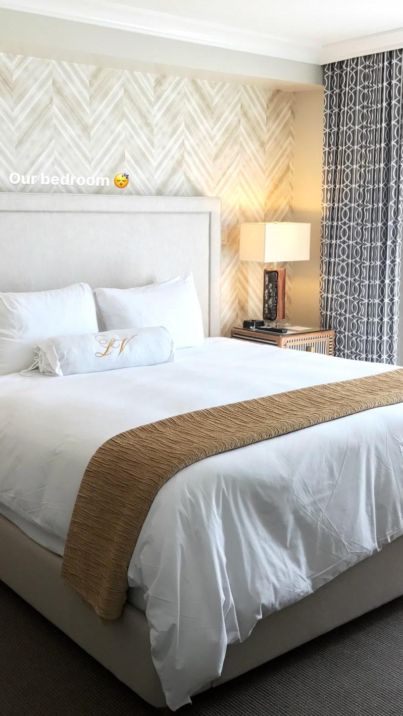 La Valencia Suite Bedroom