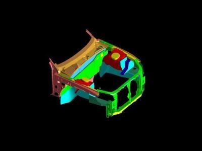 1.Engine bay assembly