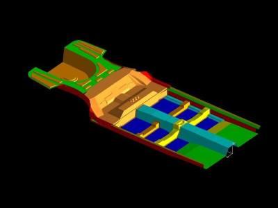 4.Car floor assembly
